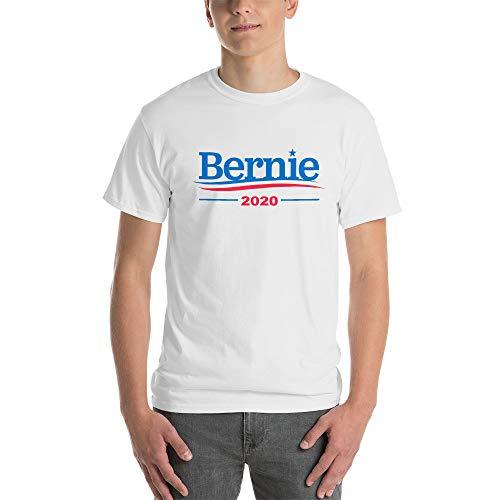 Bernie Sanders 2020 for President Men's White Shirts (Small)