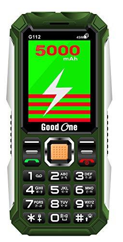 Good ONE G112 Four SIM 5000mAh Keypad Mobile