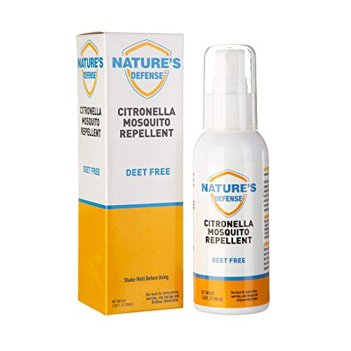 Liquid Pet Citronella Mosquito Repellent Spray, Great for Kids and Toddlers, Travel Size (100ml, 3.38 oz) Insect & Bug Repellent, Perfect for Camping, Hiking, Outdoors, BBQs