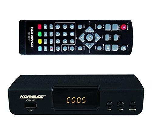 Buy KORAMZI HDTV Digital TV Converter Box ATSC with USB Input for Recording and Media Player CB-107