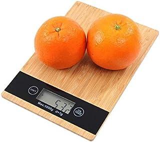 LONGWDS Escala Escala de Cocina Digital 5kg Escala de Alimentos para la báscula de Peso multifunción básica electrónica de...