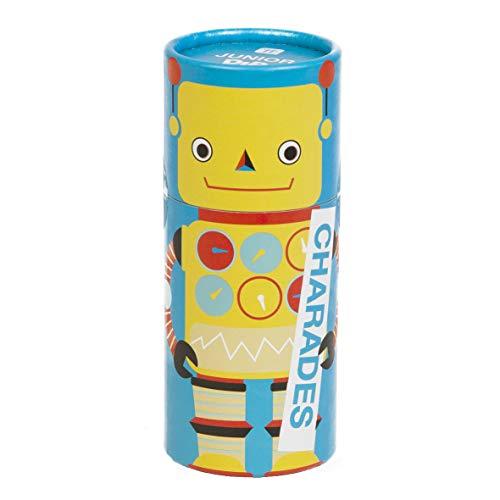 Talking Tables DIP-JNR-CHARADES Junior Dipsticks Scharaden für Kinder Spiel   Fun Family Guessing Game   Für Kinder, Geschenkbare Roboterbox, Weihnachten, Geburtstag, Schauspiel, Reisen