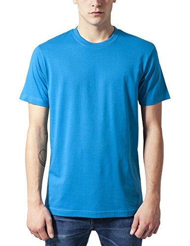 Urban Classics Herren Basic Tee T-Shirt, turquoise, L