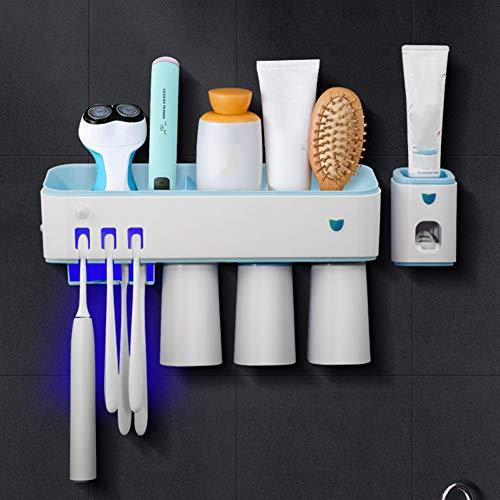 IJNUHB Smart Sterilisatie UV Sanitizer Tandenborstel Houder Automatische Inductie Elektrische Tandenborstel Box voor Familie Kids Badkamer Draadloos