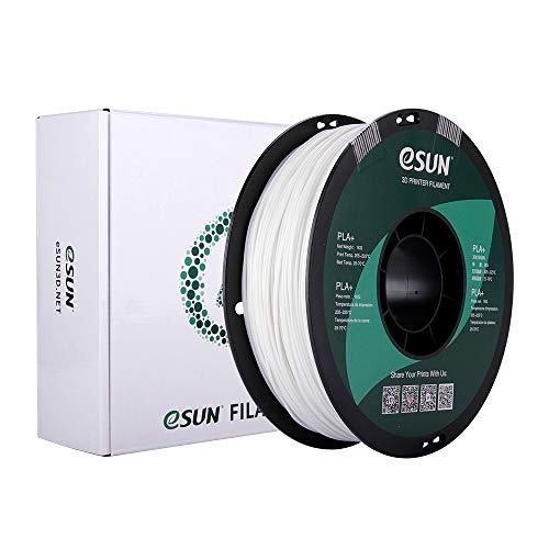 eSUN PLA Plus Filamento de Impresora 3D, Glow in the Dark Filamento PLA+ 1.75mm, Precisión Dimensional +/- 0.03mm, 2.2 LBS (1KG) de Carrete Materiales de Impresión 3D de Filamento, Verde Luminoso