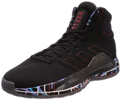 Zapatilla Basket Adidas Pro Bounce Madness (42 EU - 8.5 US, Negro)