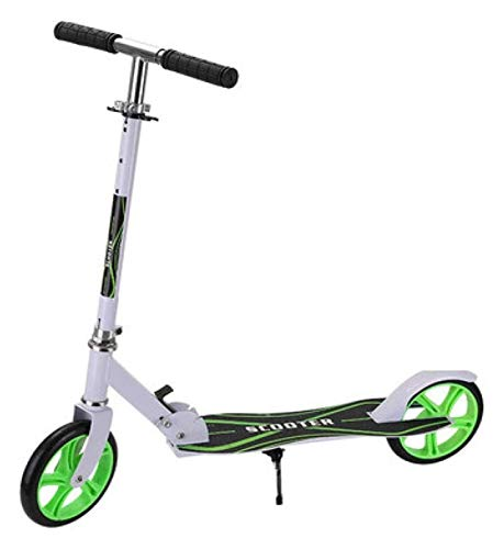 GTYMFH Scooter de pie Scooter de matiz for jóvenes/Adultos, Sistema de Plegado de liberación rápida, Mecanismo de absorción de Golpes, Scooter liviano, Carga máxima 150kg / 330lb Scooter de Ciudad