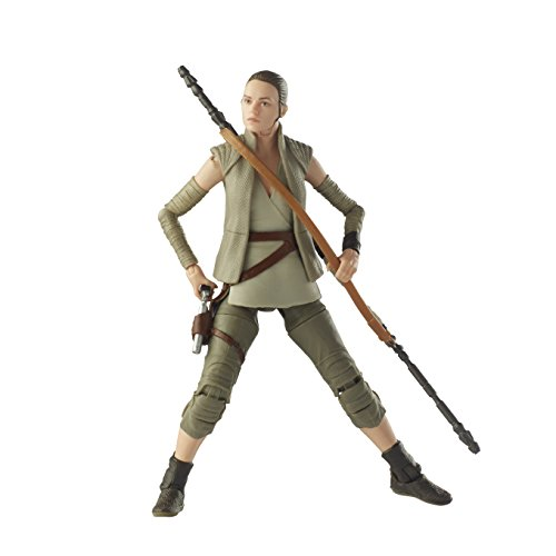 Star Wars The Black Series Rey Island Journey, ca. 15 cm große Actionfigur