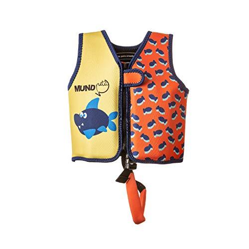 MUNDO PETIT -Chaleco de Ayuda a la flotabilidad Aprendizaje de la natación, Naranja,...