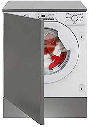Teka - Lavadora integrable A+++ de 8kg de capacidad y programa lavado a mano - Blanco - 82 x 59.6 x 57