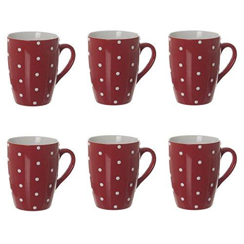 Secret de Gourmet - Lot de 6 Mugs\