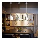 Lámpara de Sala de Estar de Dormitorio 1 Juego de ABC Luces Pendientes Loft Lámpara Instrumento nórdica Hanglamp Restaurante Cocina Vivir Tienda de Sala de Bar Iluminación Industrial