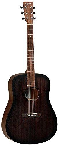 Tanglewood TWCRDE - Guitarra acústica electrificada, acabado satinado