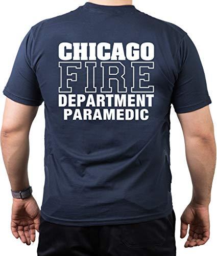 T-Shirt Chicago FIRE DEPT - Paramedic - Feuerwehr von Chicago