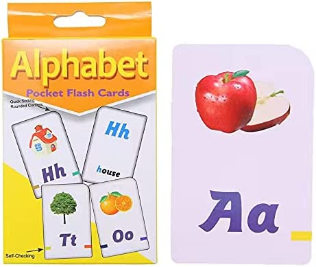 LELETEIL Alphabet Flash Cards 2-6 Cheap mail order sales Children's Enlighte Selling and selling Old Years