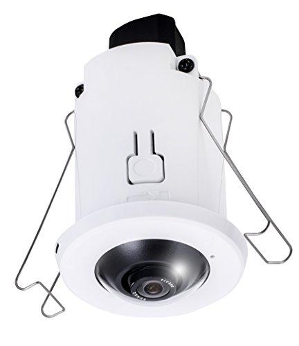 Cámara de cúpula IP Vivotek fix 1,3 MP PoE, 3,6 mm fix 77 grados)