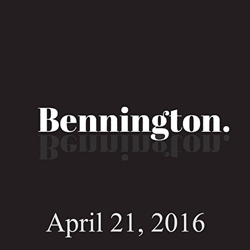 Bennington, Dave Hill, Amy Miller, Billy Connolly, April 21, 2016 audiobook cover art