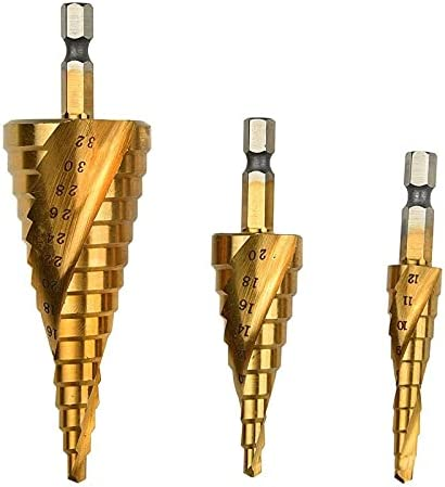 Drill Bits HSS Spiral Grooved Shape Ranking TOP9 Center Bit Pagoda Hole Max 46% OFF