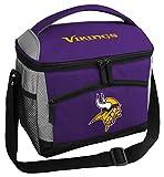 Rawlings Lancheira/Lancheira com Isolamento NFL, Capacidade para 12 latas, Minnesota Vikings, Roxo
