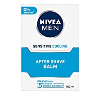 Nivea Men Sensitive Cooling After Shave Balm 100Ml (Ship from India)