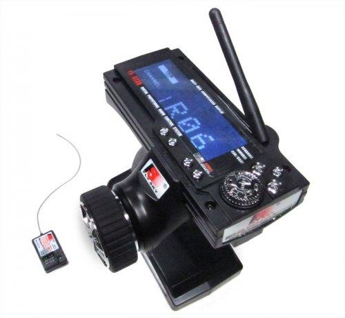 Flysky Fly Sky #GT3B-2.4G FS-GT3B Digital 3CH 2.4Ghz TX & RX LCD Transmitter & Receiver