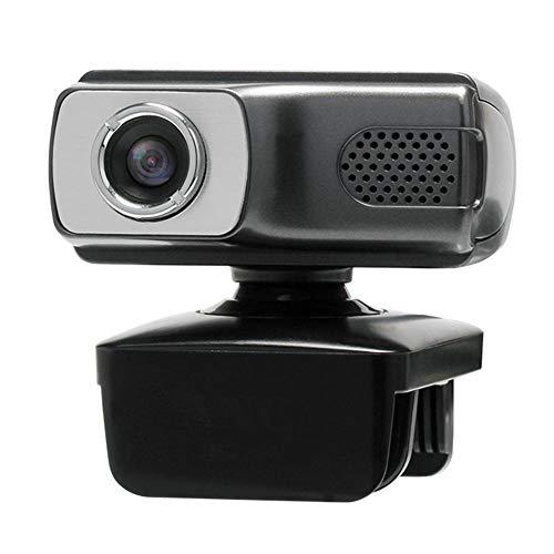 SHIJING Webcam 720P, cámara HDWeb con una función de micrófono de Alta definición 1600x1200 computadora USB2.0 Web CAM para PC de Escritorio del Ordenador portátil