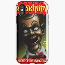 Goosebumps Night Of The Living Dummy Slappy Haunted - Apocalypse Phone Case Glass, Glowing For All Iphone, Samsung Galaxy-miniot