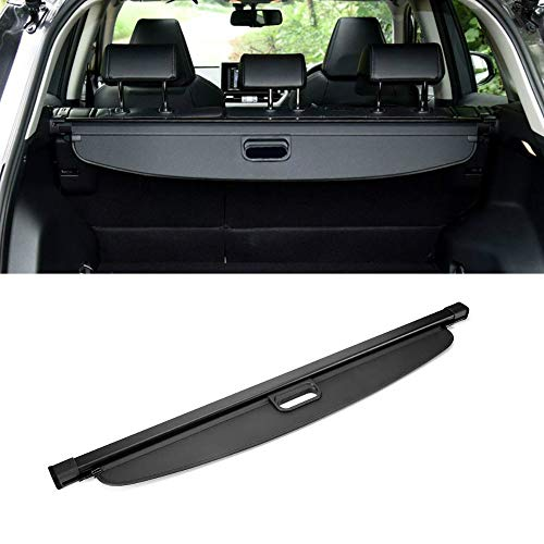 MotorFansClub Cargo Cover Fit For Compatible With RAV4 2019 2020 Retractable Rear Trunk Security Cover Shielding Shade
