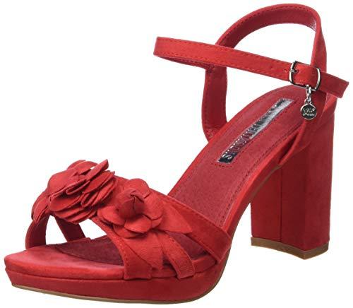 XTI Sandalia TNT035044 para Mujer Rojo 40