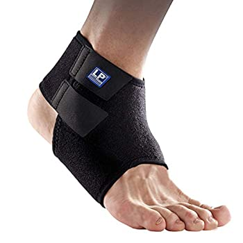 Le bandage respirant pour chevilles LP Support 768KM stabilise et protège la cheville pendant les activités physiques. Il est conçu pour soutenir et accompagner le mouvement correct de l'articulation et est donc idéal pour la prophylaxie afin d'évite...