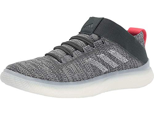 adidas Pureboost Trainer Legend Ivy/Ash Silver/Shock Red 11 D