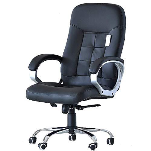 PLEASUR Stühle Sofas Study Computer Stuhl Black Boss Stuhl Student Computer Stuhl Bürostuhl Firmenkonferenzstuhl Bequemer Stuhl im Wohnzimmer