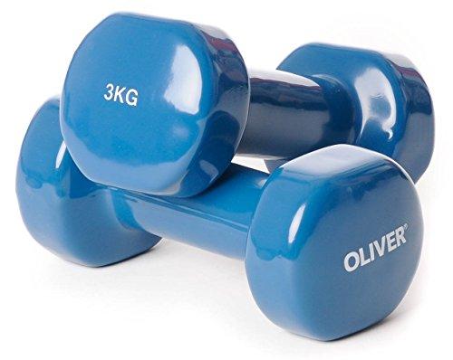 Oliver  Vinilo Corta mancuerna 2x3 kg, Gasolina, ol1054178b1