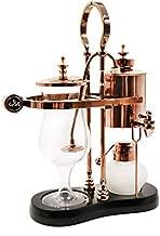 Diguo Belgian/Belgium Luxury Royal Family Balance Syphon Coffee Maker. Elegant Retro-Style Design. Color Rose Golden. Capacity: 500ml/17 oz.