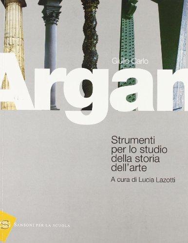 Argan - Strumenti per lo Studio della Storia dell'Arte
