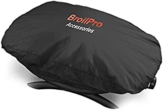 BroilPro Accessories BPA98 Vinyl Cover Fits for Weber Q-1000 Series