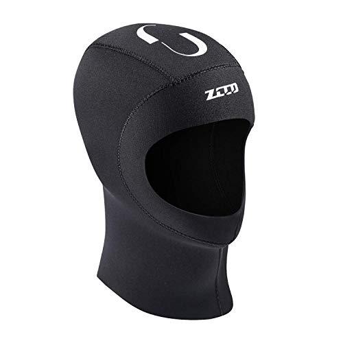ZCCO Scuba Diving Hood 3mm/5mm Neopren Neoprenanzug Haube Langlebige Dehnbare Tauchkappe, Surfing Thermal Hood zum Schnorcheln Kajakfahren Segeln Kanufahren (3mm, M)