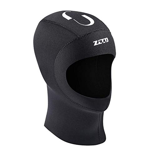 ZCCO1 Scuba Diving Hood 3mm Neoprene Wetsuit Hood Durable Stretchable Diving Cap Wetsuit, Dive Hood Surfing Thermal Hood for Surfing Snorkeling Kayaking Sailing Canoeing Water Sports(3mm, XL)