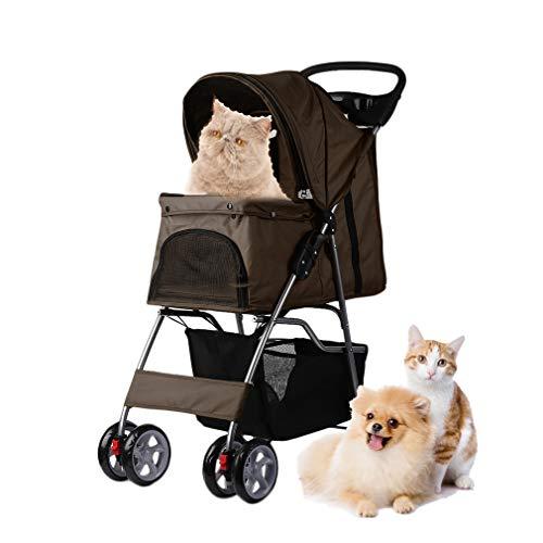 wxj Hundewagen, Haustier Buggy, Buggy für Hunde und Katzen, Pet Stroller, Pet Roadster