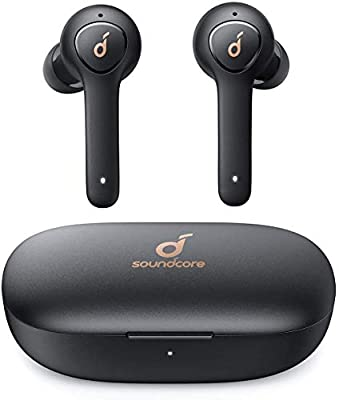 Anker Soundcore Life P2 True Wireless Earbuds with 4 Microphones, cVc 8.0 Noise Reduction, Graphene Driver, Clear Sound, USB C, 40H Playtime, IPX7 Waterproof, Wireless Earphones for Work, Home Office