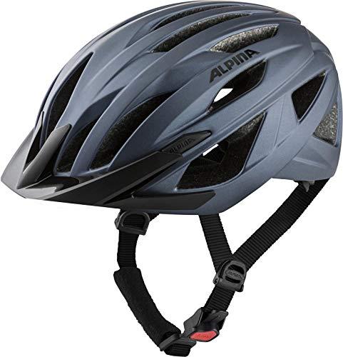 Alpina Unisex– Erwachsene Parana Fahrradhelm, Indigo matt, 55-59 cm