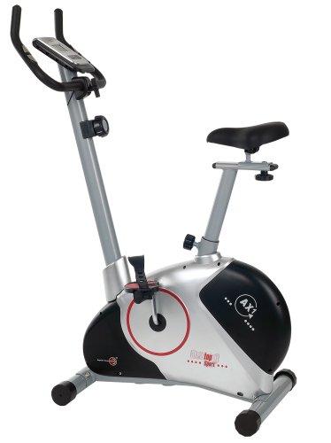 Christopeit AX 1 Exercise Bicicleta 100 x 51 x 137 cm,(/ Black) Plata/Negro