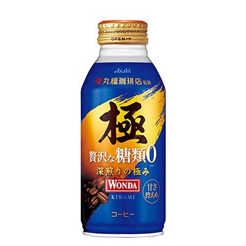 ワンダ 極 贅沢な糖類ゼロ ボトル缶 370G 24本 2ケース
