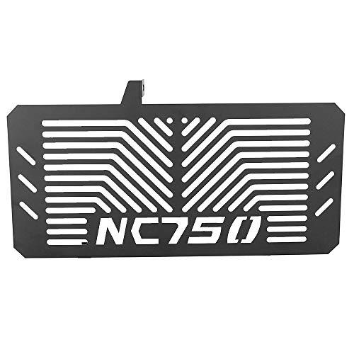Hochwertiger Motorrad Kühlerschutz Schützende Kühlergrillabdeckung für NC750 NC750S NC750X 2014-2016 (Schwarz)