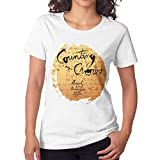 Women's Counting Crows August and Everything After Short Sleeve T-Shirt White M