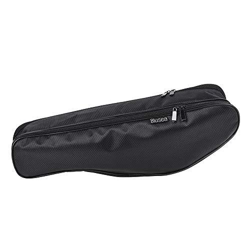 Lixada Tragbare Angelrute Tasche 50 cm Angelrute Tragetasche Angelgerät Werkzeug Halter Angeln Getriebe Organizer Aufbewahrungstasche