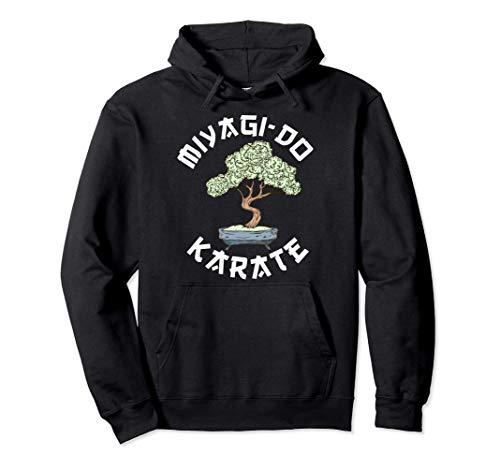 Vintage Miyagi-Do Karate Bonsai Tree Karate Lover Gift Pullover Hoodie