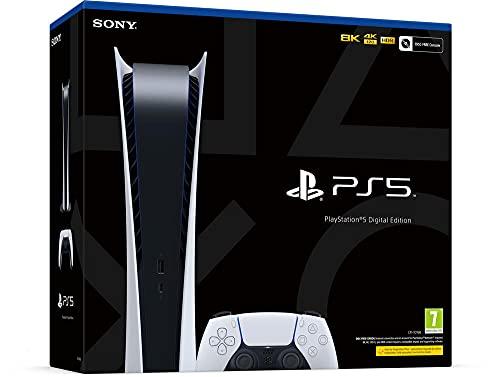 Sony PlayStation 5 Digital Edition, PS5 avec 1 Manette Sans