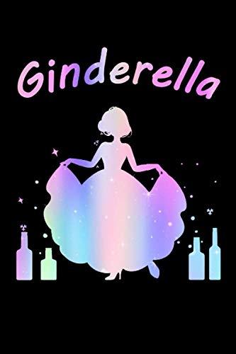 Ginderella Prinzessin JGA Party Alkohol: Dot Grid Journal oder Notizbuch (6x9 Zoll) mit 120 Seiten