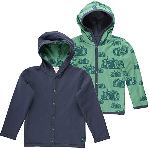 Fred'S World By Green Cotton Farming Jacket Blouson, Multicolore (Midnight 019411006), 56/62 Bébé garçon